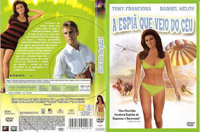 Filme A Espiã Que Veio do Céu (Fathom) DVD Capa