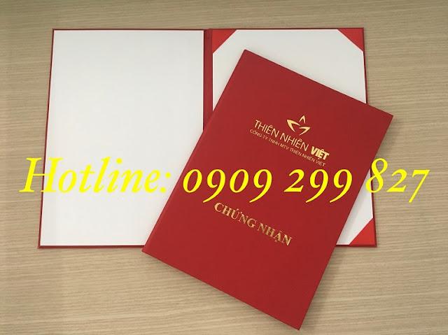 Mẫu bìa đựng tốt nghiệp chất lượng và sang trọng nhất - 0909 299 827 4