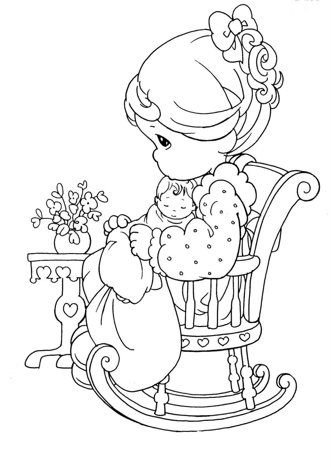 best Dibujos Para Colorear Del Dia De La Madre De Preciosos Momentos ...