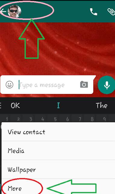 Begini Nih Caranya Memblokir kontak pada whatsapp untuk berhenti menerima pesan 3