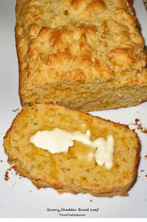 Savory Cheddar Bread Loaf