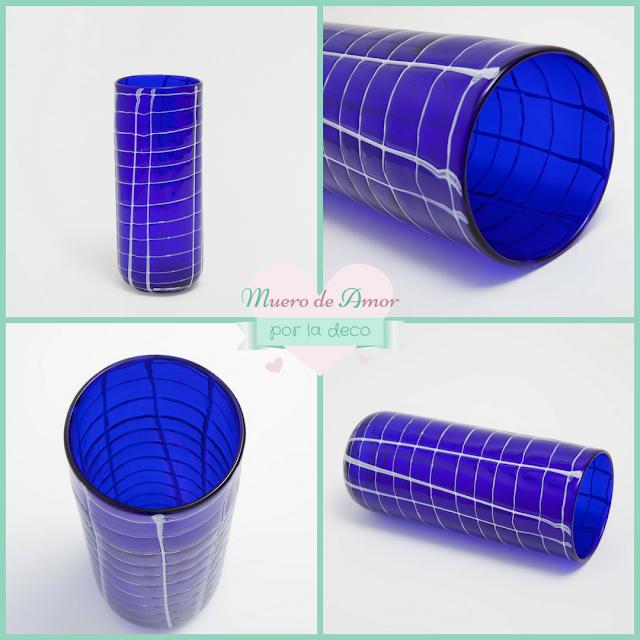 Jarrones Azules para Decorar tu Casa-Zara Home-By Ana Oval