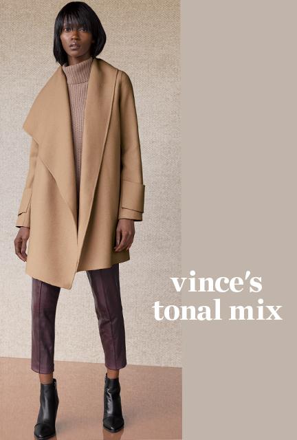 "High Heels in the Wilderness"" Crazy for Camel. Vince camel coat"