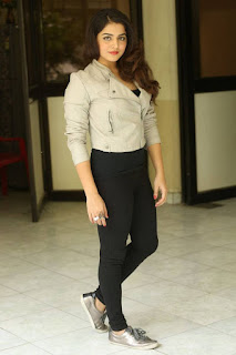 Actress Wamiqa Gabbi Stills at Nannu Vadili Neevu Polevule Press Meet  0033