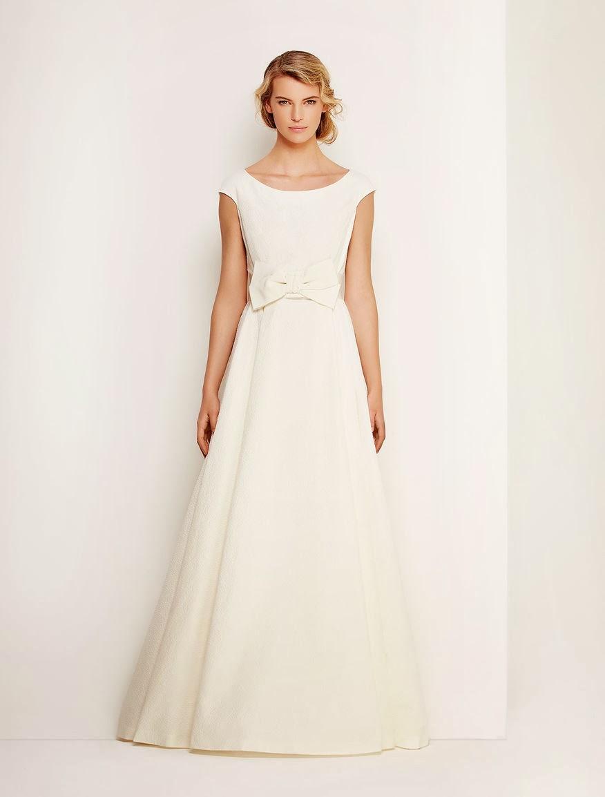 abito da sposa Max Mara 2014 per nozze a tema farfalle