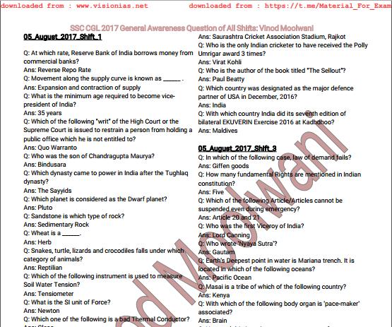 General Awareness 2014 Ebook