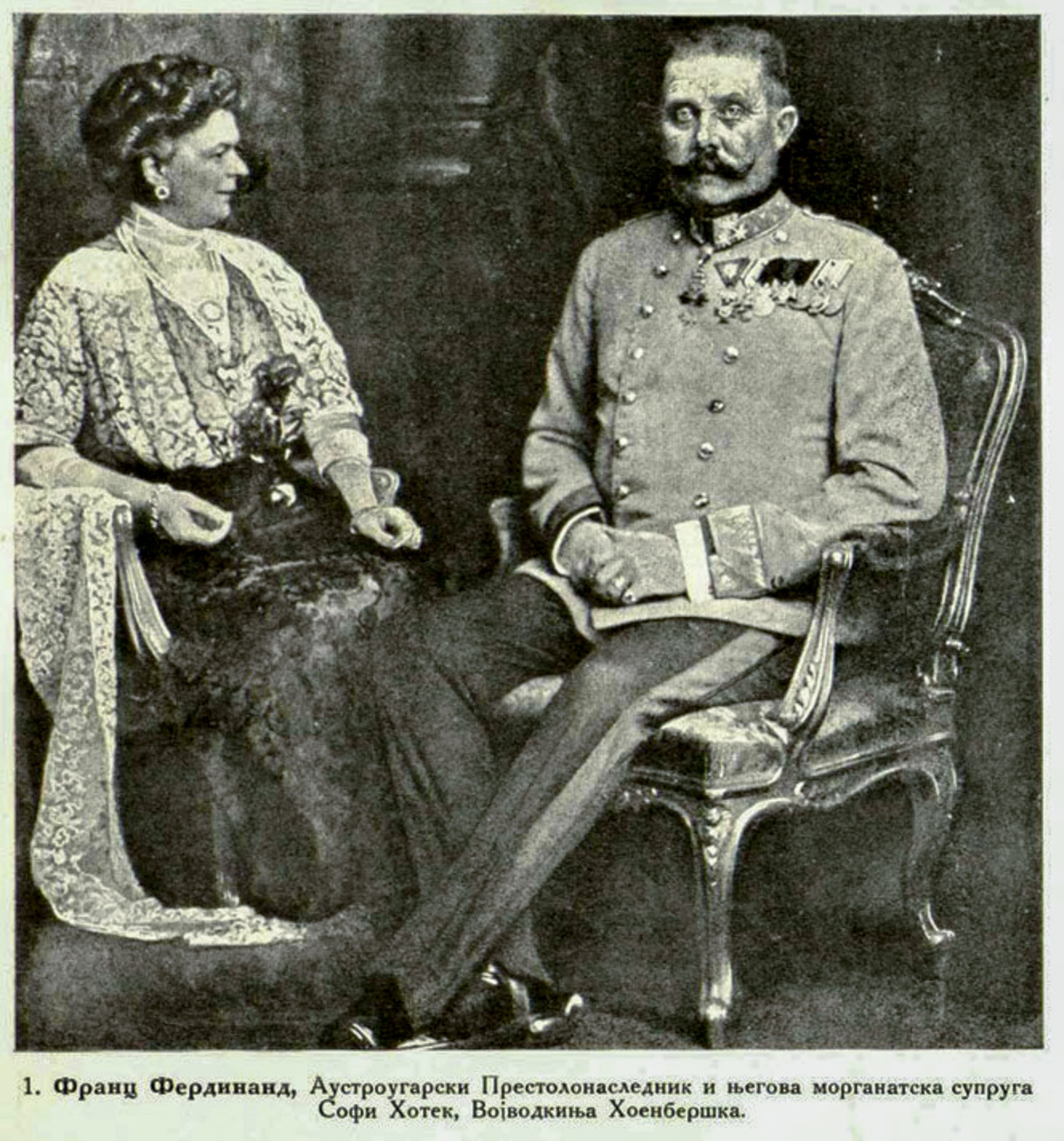a report on the assassination of franz ferdinand Deeply in love, ferdinand chose to marry sophie chotek in 1900 despite the opposition of his uncle, austro-hungarian emperor franz josef, who refused to attend their wedding though not.