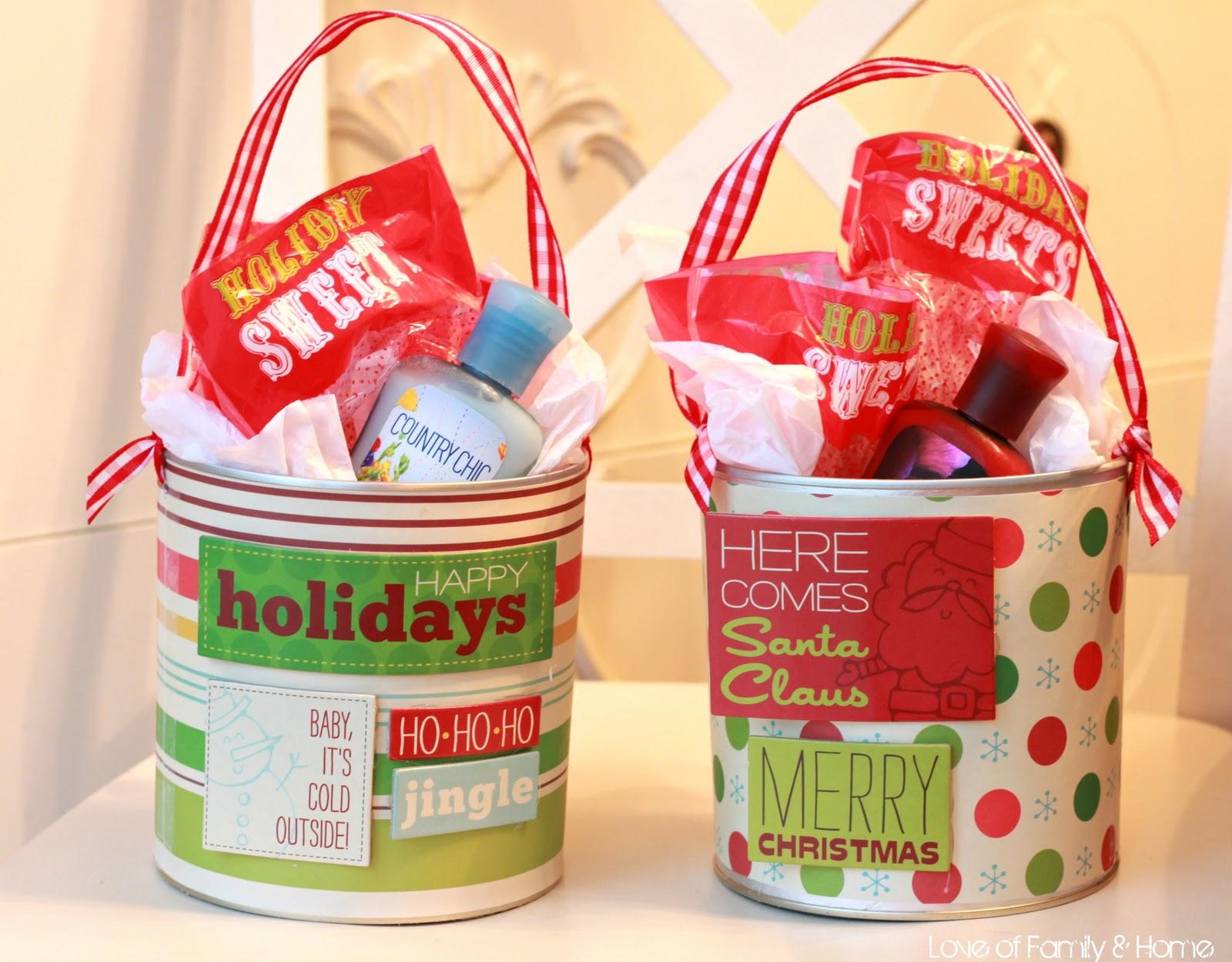 Last Minute Teacher's Christmas Gifts.....