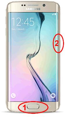 Come fare uno screenshot con il Samsung Galaxy S6
