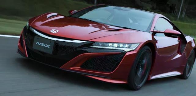 Honda NSX Acura Melakukan Debut Menyongsong 2017