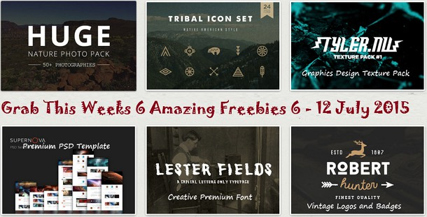 Download This Weeks 6 Free Design Goods 6 July