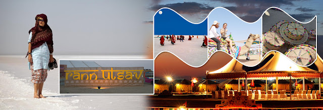 Rann Utsav - a celebration of life, festivities and culture of Kutch and Gujarat.
