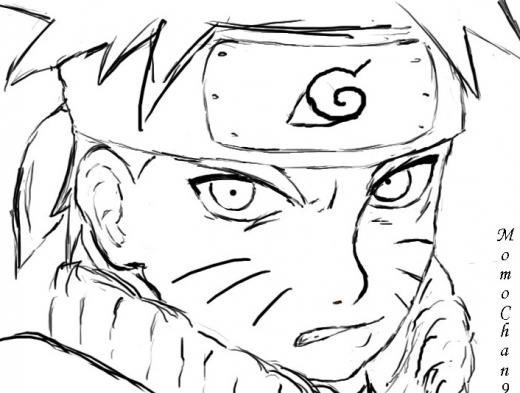 Pintar E Colorir Desenhos Do Naruto Para Colorir
