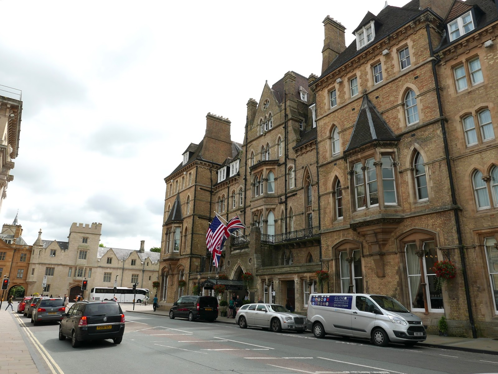 The Randolph Hotel Oxford Menu