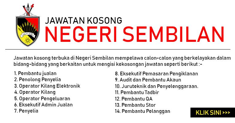 Jawatan Kosong di Negeri Sembilan