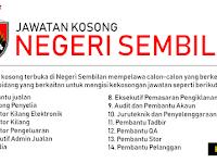 Jawatan Kosong di Negeri Sembilan - Gaji RM1,000 - RM3,300
