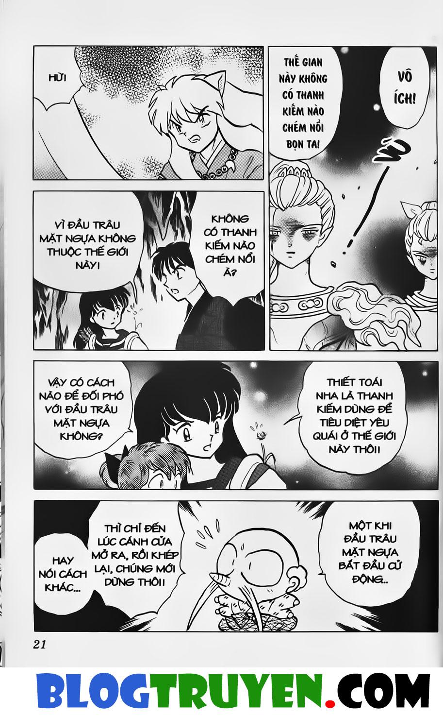 Inuyasha vol 31.1 trang 19