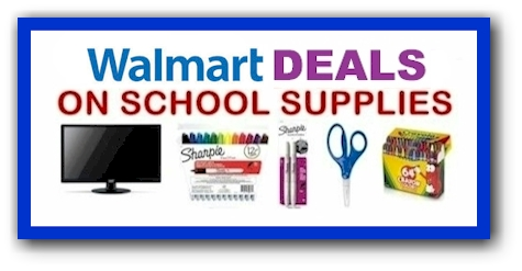 Daily Cheapskate New Walmart School Supply Deals Updated As Of 7