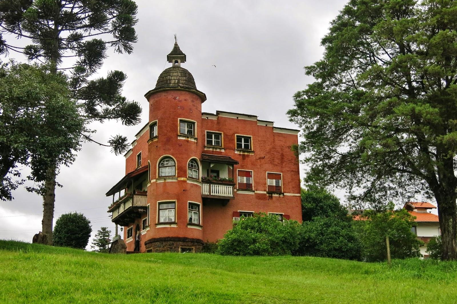 Casa de Andreas Thaler, fundador de Treze Tílias