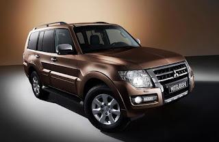 Mitsubishi Pajero Color: Brown