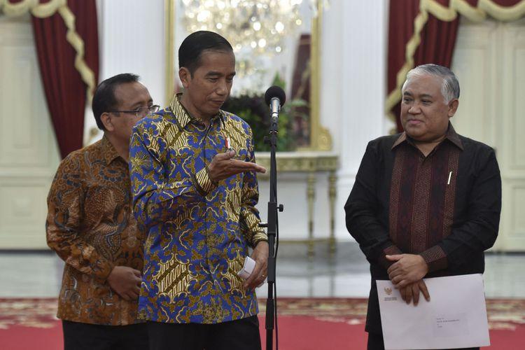 Alasan Mengejutkan Din Syamsuddin Tolak Jadi Tim Kampanye Jokowi - Ma'ruf Amin
