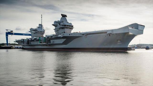 """China acusa a Londres de crear """"problemas"""" con sus naves de guerra"""