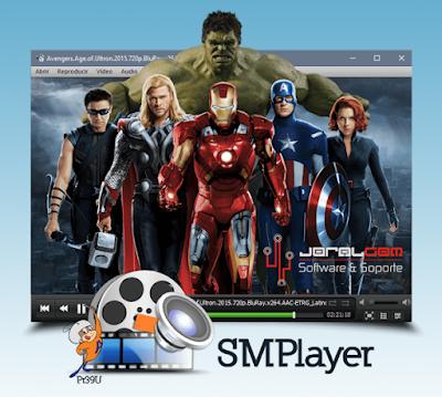 SMPlayer - Reproductor Multimedia Gratuito con códecs incorporados.