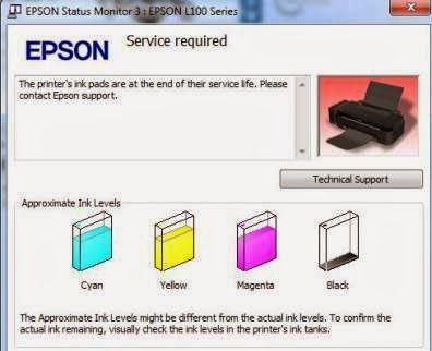 Cara Reset Printer Epson L120 Mas Verry 11