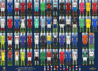 PES 2016 Euro 2016 Kit v.4 by MT Games 1991