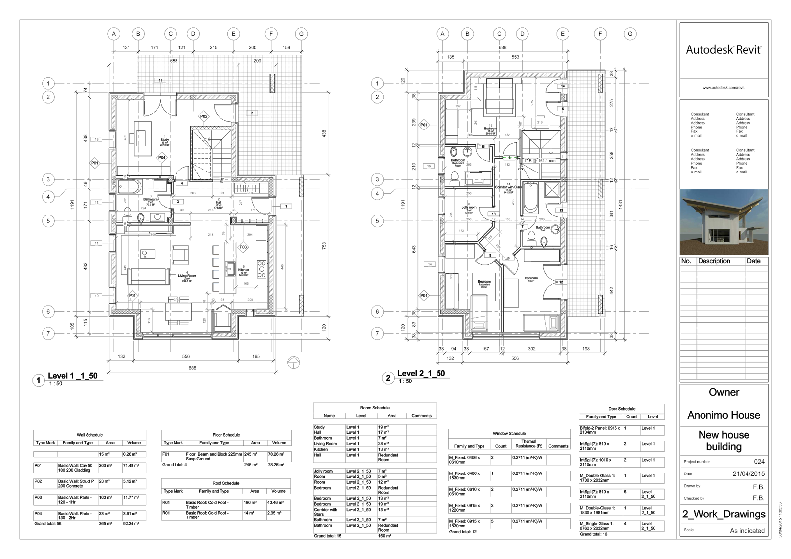 Drawings architectural pdf working