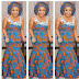 Creative Ankara Skirt and Blouse Design for Ladies