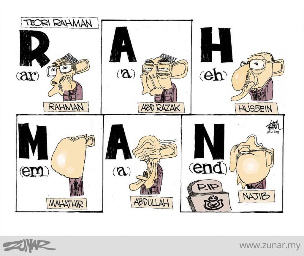 Berakhirnya 'RAHMAN' Kini Era 'MAHATHIR'