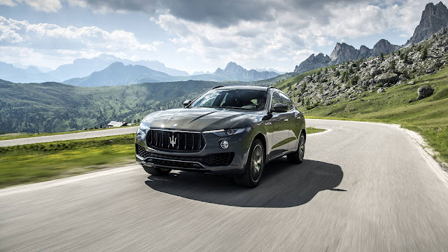 Maserati Levante S SUV on drive