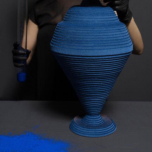 Tembikar Biru Siba Sahabi Hidupkan Pigmen Alkimia dari Era 2600 SM