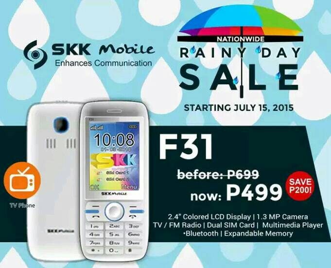 SKK Mobile Rainy Day Sale 2015 now ongoing, quad-core as low as P1999