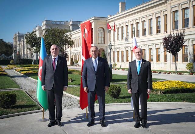 Irán, Georgia y Turquía apoyan reclamo territorial de Azerbaiyán