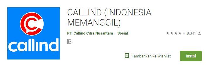 Download Callind Aplikasi Chat Terbaru Pesaing WhatsApp Buatan Orang Kebumen