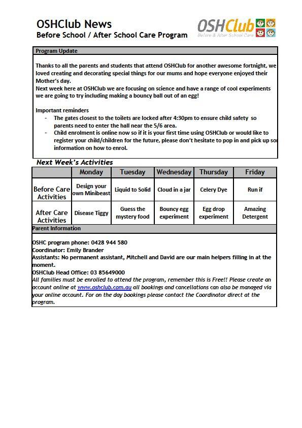 reidy park primary school pdf