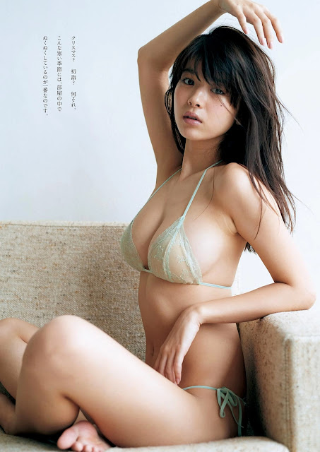 Fumika Baba 馬場ふみか Weekly Playboy 2017 No 3-4 Pictures