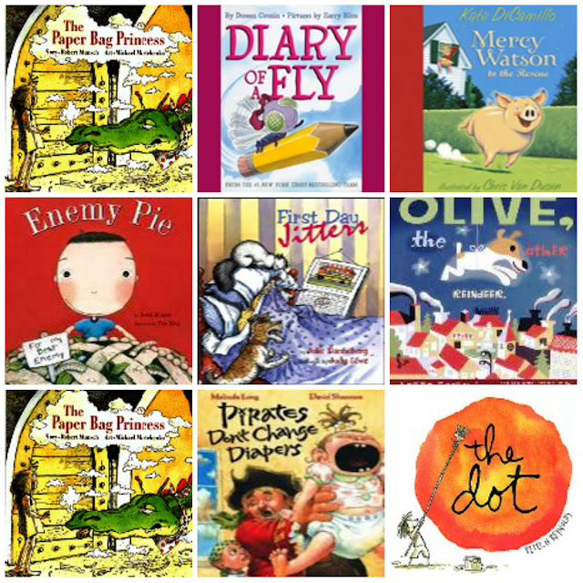 Hit the easy button with online audio books from Tumblebooks.  These are perfect for Daily 5 Listen to Self!