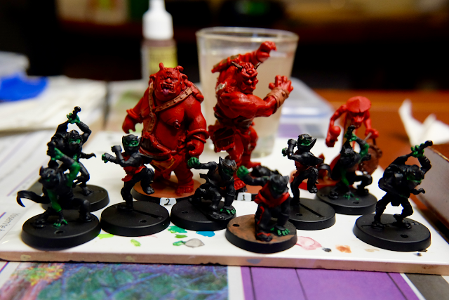 Ninja Goblins in progress