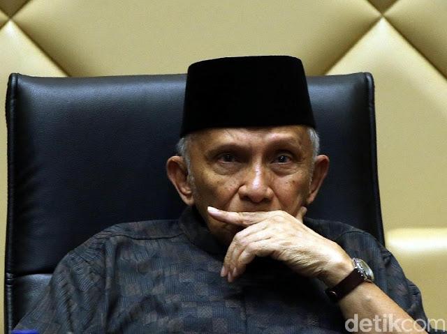 BPN Jelaskan soal Amien Rais Tak Mau Hitung Suara di Hotel Borobudur