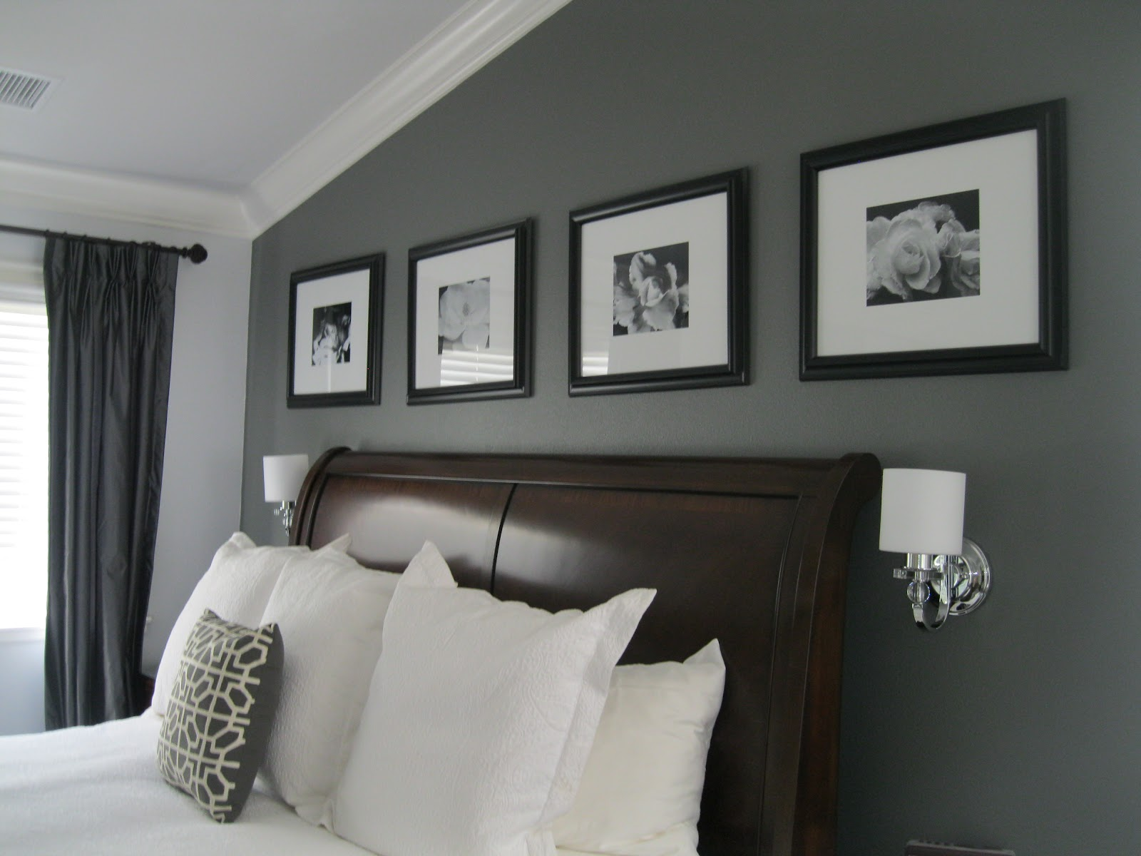 C b i d home decor and design charcoal gray master suite - Designer gray paint color ...
