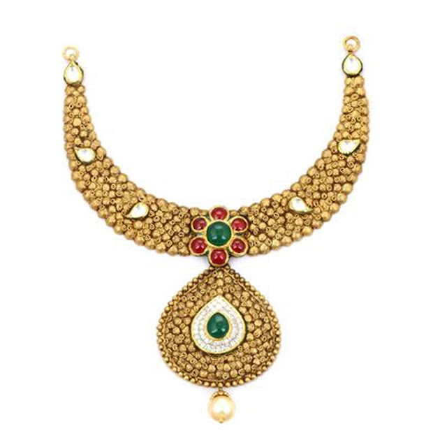 Gold Neckalce by VelvetCase.com- Rs. 3,18,289