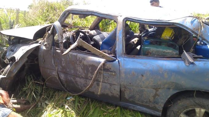 Capotamento deixa uma pessoa morta na BR 135, município de Itapecuru Mirim