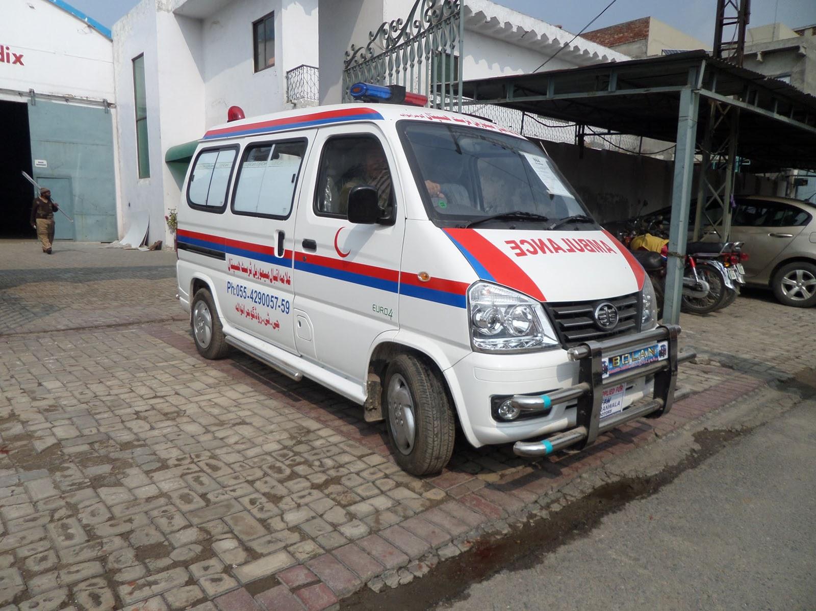 Ahmad Medix (Life Care): Ambulance manufacturer