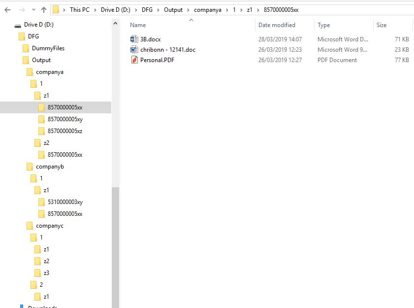 Create Dummy File