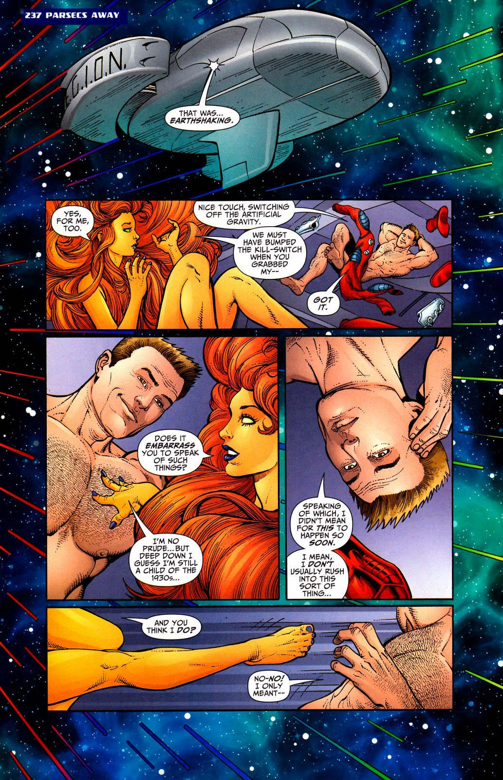 Starfire naked sex not