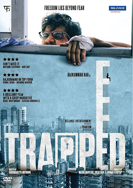 Poster of Trapped 2017 Full Hindi Movie 720p HDRip Download