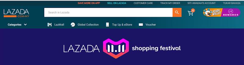 Keseronokan Menerima Barang Yang Dibeli Melalui 11.11 Shopping Festival Lazada Mula Terasa